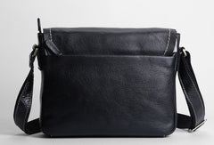 Leather mens Cool messenger bag vintage shoulder laptop bag for men