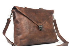 Cool leather mens Briefcase laptop Briefcase work Briefcase Shoulder bag for Men