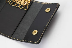 Handmade LEATHER Mens Womens Key Wallet Leather Small Key Holders FOR Women Mens