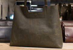 Handmade Womens Leather Large Tote bag leather Shoulder Tote Bag for women