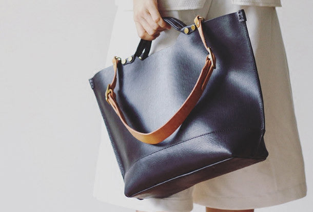 Handmade Leather tote bag for women leather shoulder bag handbag. SKU   RR05681009. Ask a Question or Check out FAQs of the item ce584cb0c7562