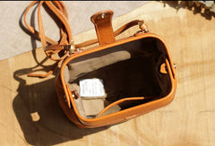 Handmade Leather phone bag for women leather shoulder bag crossbody bag