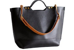 Handmade Leather tote bag for women leather shoulder bag handbag