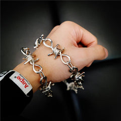 Badass Iron Thorns Pants Chain Hip Hop Punk Wallet Chain Biker Wallet Chain For Men