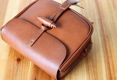 Handmade shoulder bag Genuine vintage rustic leather crossbody Shoulder Bag for women