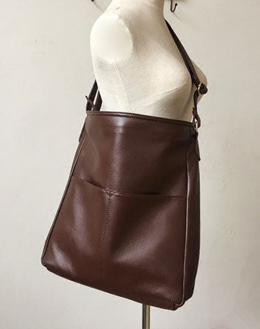 Genuine Leather Bag Handmade Shoulder Bag Crossbody Bag For Women