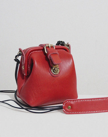 Handmade Leather crossbodybag purse shoulder bag for women leather bag