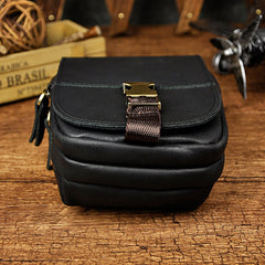 Vintage Leather Cigarette Case Belt Pouch for Men Waist Bags BELT BAG For Men