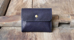 Leather Mens Front Pocket Wallet Card Wallets Slim Small Change Wallets for Men
