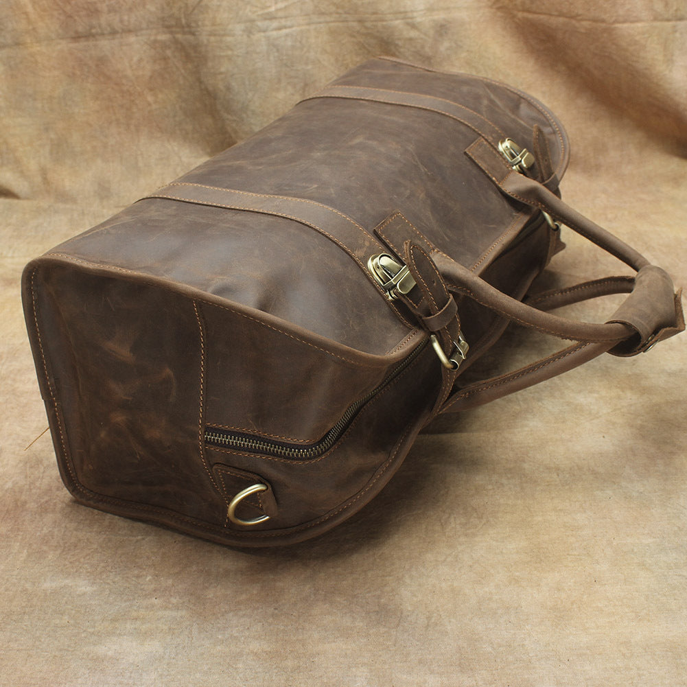 36a5ee1bbdc  189.00 189.00. No reviews. Overview  Design  Leather Mens Weekender Bag  Vintage Travel ...