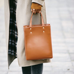 Leather Women Small Tote Handbags Shoulder Bag For Women