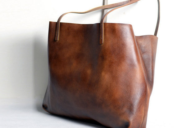 7b47546d52 Handmade modern vintage leather big black brown tote bag shoulder bag for  women. SKU  MS04391001. Ask a Question or Check out FAQs of the item