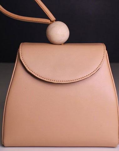 Genuine leather clutch handbag beige clutch purse shopper bag women