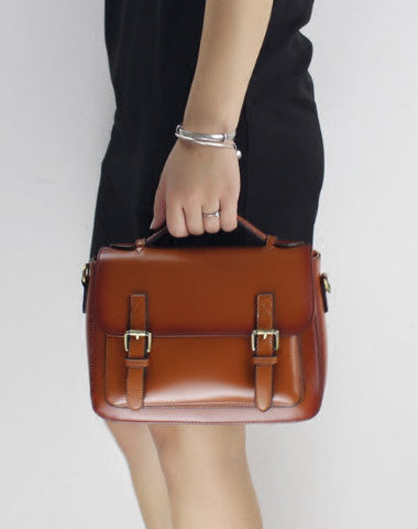 Genuine Leather handbag shoulder bag satchel bag for women leather crossbody bag
