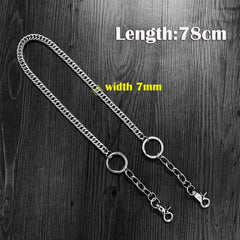 Cool Silver Long Mens Womens Pants Chain Wallet Chain Long Biker Wallet Chain For Men