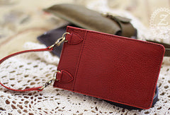 Handmade sweet modern pretty leather iphone case cover bag pouch for women/lady girl