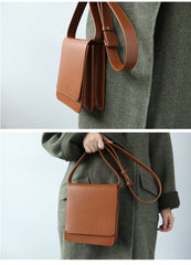 Cute Leather Womens Stylish Minimalist Crossbody Bag Purse Shoulder Bag for Women