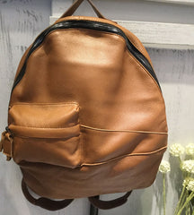 Vintage LEATHER WOMEN Large Backpack School Backpack Travel Backpack FOR WOMEN