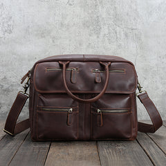 Cool leather mens Large Travel Bag Vintage Weekender Bag Shoulder Bag for Men