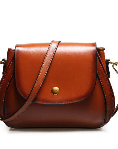 Genuine Leather crossbody bag shoulder bag for women leather bag