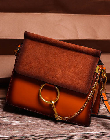 Genuine Leather crossbodybag  shoulder bag for women leather bag