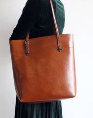Handmade Leather Tote Purse Handbag Shoulder Bag Large for Women Leather Shopper Bag