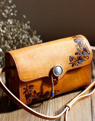 a7fea31d3907 Handmade Leather bag for women leather shoulder bag crossbody bag