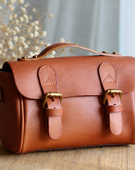 Handmade Leather handbag purse bag for women leather crossbody shoulder bag