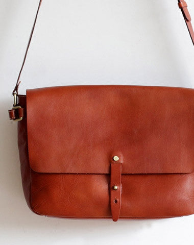 4fb3ed6c Handmade Leather bag for women leather shoulder bag crossbody bag messenger  bag