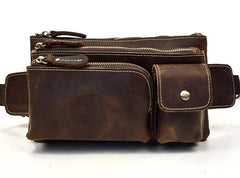 Retro and Cool LEATHER MENS FANNY PACK FOR MEN BUMBAG Vintage WAIST BAGS