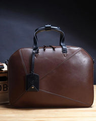 Fashion PU Men's Black Business Briefcase Computer Brown Briefcase Handbag For Men