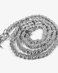 Fashion Men's Women's Silver Bike Chain Long Biker Wallet Chain Pants Chain For Men