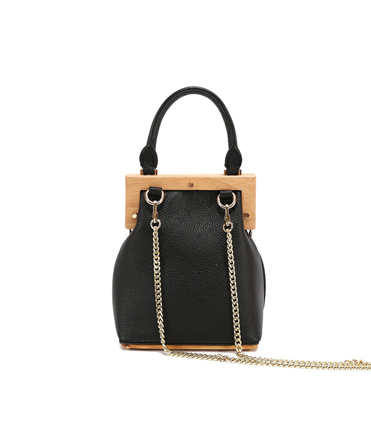 Stylish LEATHER WOMENs Frame Handbag Purse Chain SHOULDER Purse for Women