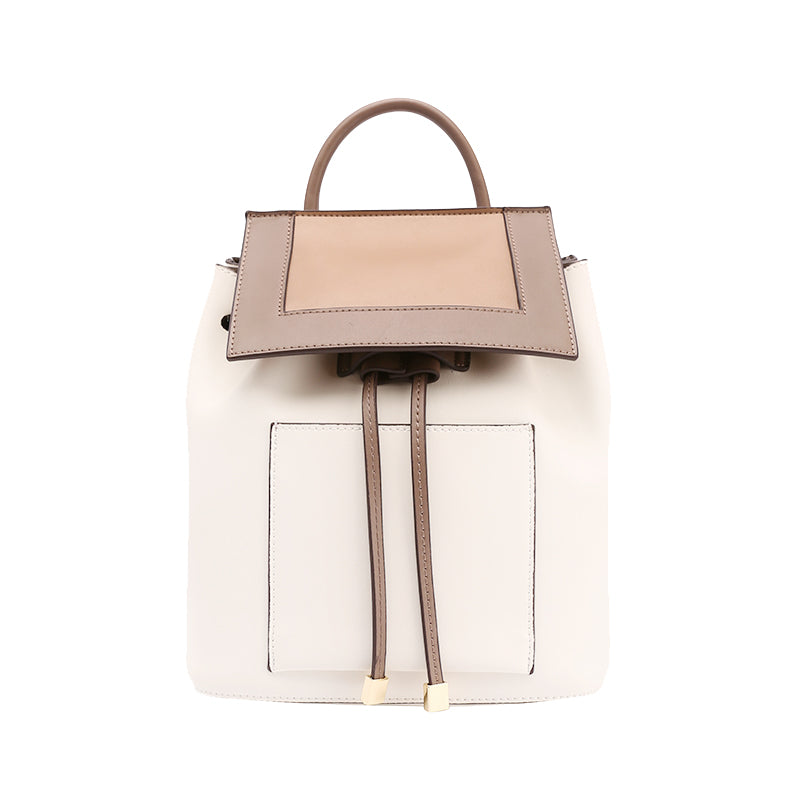 e043561232 Stylish White Leather Backpack Womens Fashion Backpacks Purse. SKU   TEN02481065. Ask a Question or Check out FAQs of the item