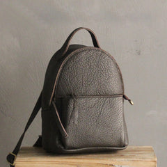 Mini LEATHER WOMEN Small Backpack Purses Cute Vintage School Backpacks FOR WOMEN