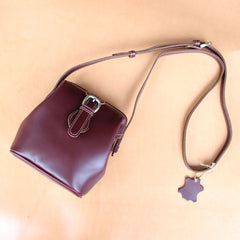 Handmade Womens Black Leather Doctor Shoulder Purses Black Doctor Crossbody Purses for Women