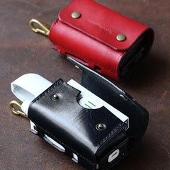 Cool Leather Mens IQOS Cigarette Case With Belt Loop IQOS Holder Belt Clip for Men