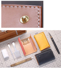Cute LEATHER Womens Small Key Wallet Card Wallet Leather Key Wallet FOR Women