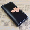Handmade Leather Womens Vintage Long Wallet Cute Long Wallet for Women