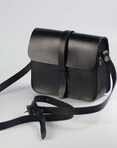 Handmade Leather Womens Shoulder Bag Leather Crossbody Bag for Women