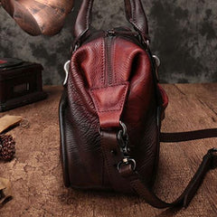 Red Vintage Leather 13