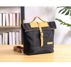 Canvas Mens Womens Handbag Small 13'' Shoulder Bag Courier Bag Messenger Bag for Men