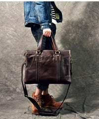 Brown Leather Mens 14