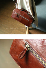 Womens Tan Leather Doctor Handbag Purses Vintage Handmade Doctor Crossbody Purse for Women