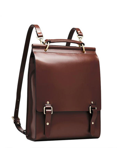 Best Brown Leather Womens Satchel Backpack Best Laptop Leather Black School Backpacks for Women