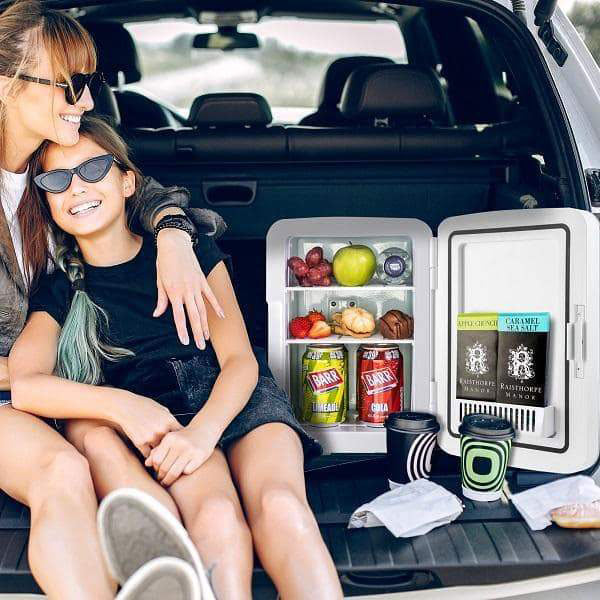 Subcold Ultra 10L mini fridge with multiple power options for car, caravan and outdoor adventures