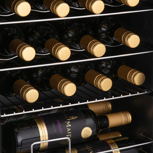 Subcold Viva wine cooler fridge with flexible storage