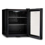 Subcold Super 50 litre black beer drinks mini fridge interior
