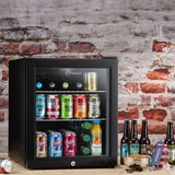 Subcold Super 50 litre table top black beer drinks mini fridge