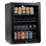 Subcold Super 65 litre beer drinks fridge black